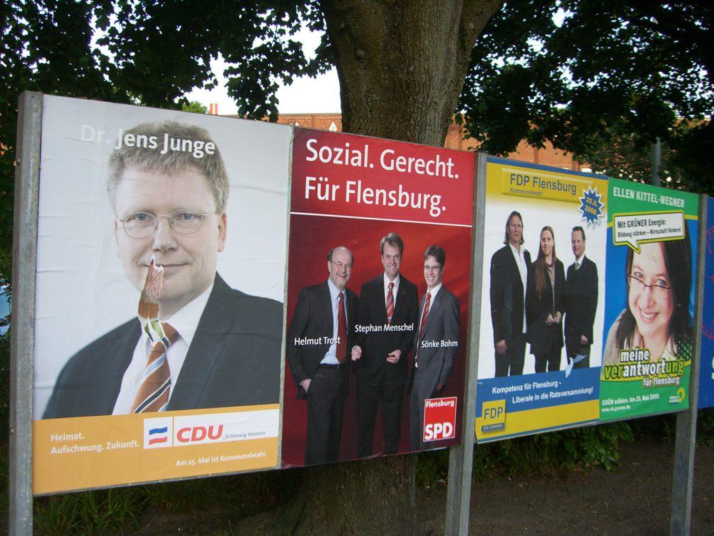 Wahlplakat Dr. Jens Junge 2008