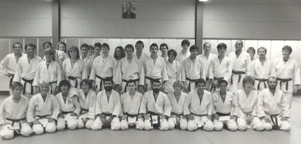 1. Godesberger Judo-Club e.V. Trainingsgruppe 1984