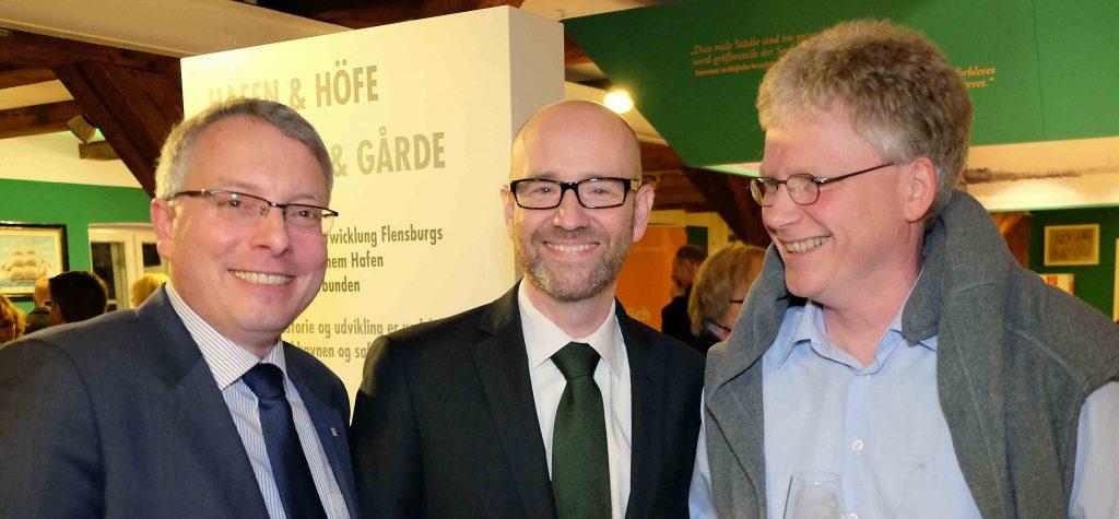Arne Rüstemeier, Peter Tauber und Jens Junge 2016