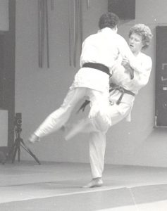 Jens Junge im Judo-Training 1987