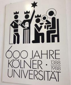 600 Jahre Universität Köln, 1388-1988