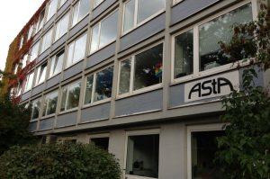 AStA-Schriftzug von Jens Junge