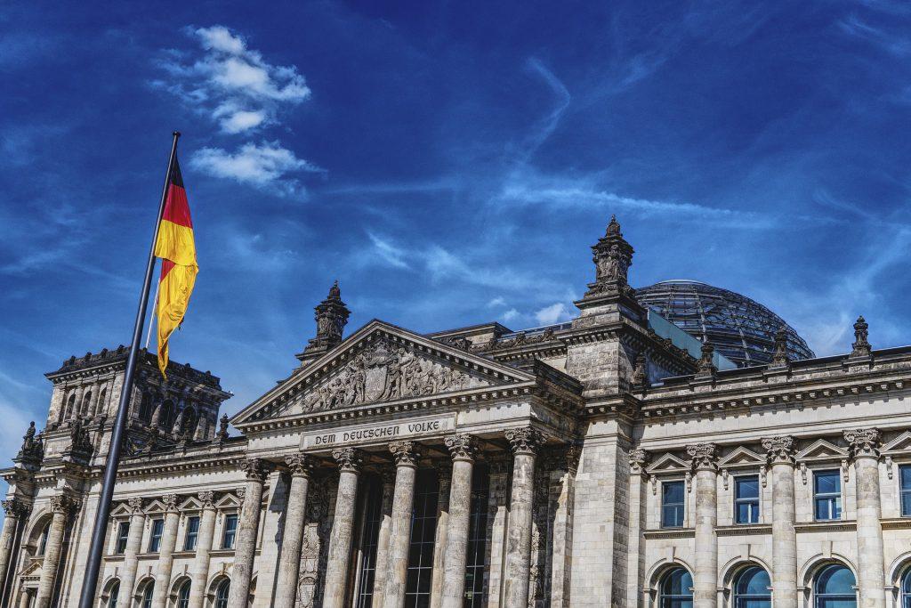 Reichstagsgebäude: Deutscher Bundestag in Berlin
