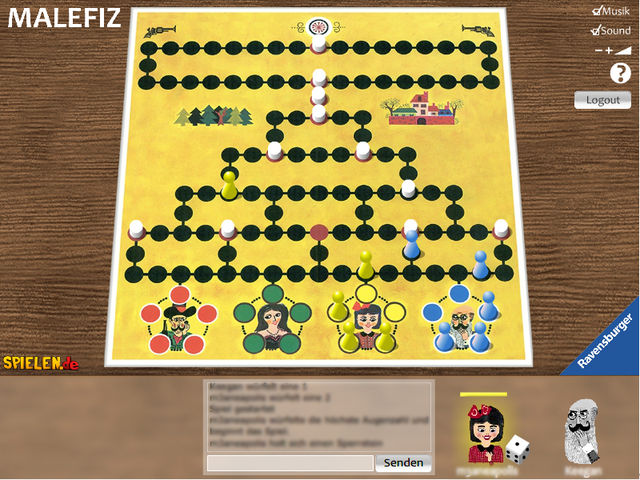 Mediatrust: Brettspiel Malefiz als Live-Online-Spiel