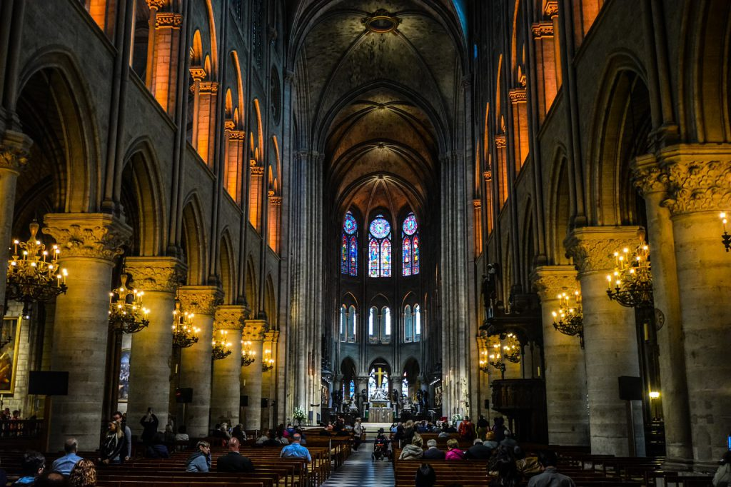 Ludologie Religion Glaube Kirche Dom Notre Dame Christentum