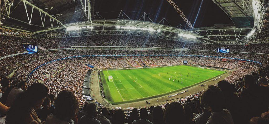 Fußballstadion, Sportspiele