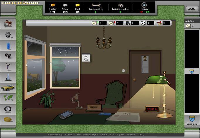 Mediatrust: Browsergame Matchroad (2006)