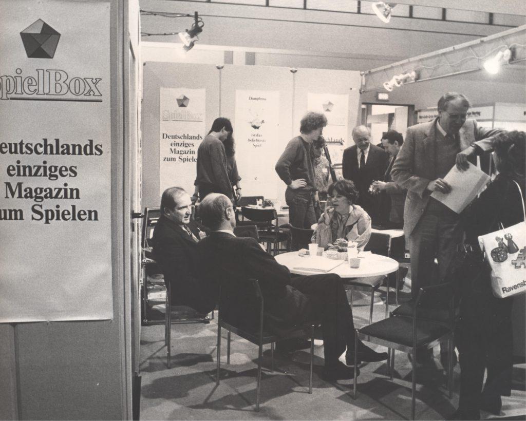 Jens Junge und Erwin Glonnegger 1985