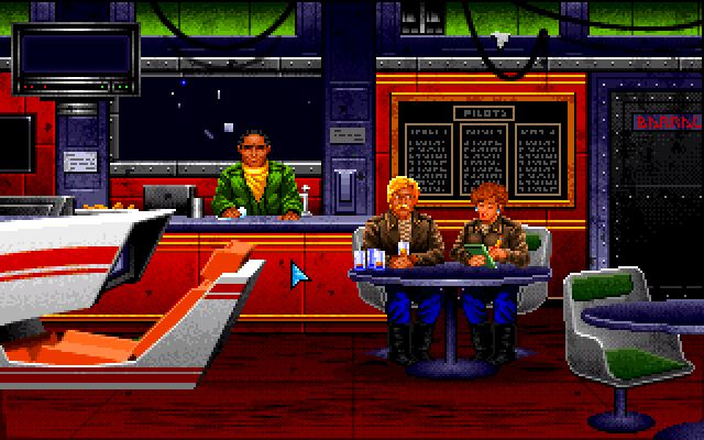 Wing Commander 1, Bar, 1990